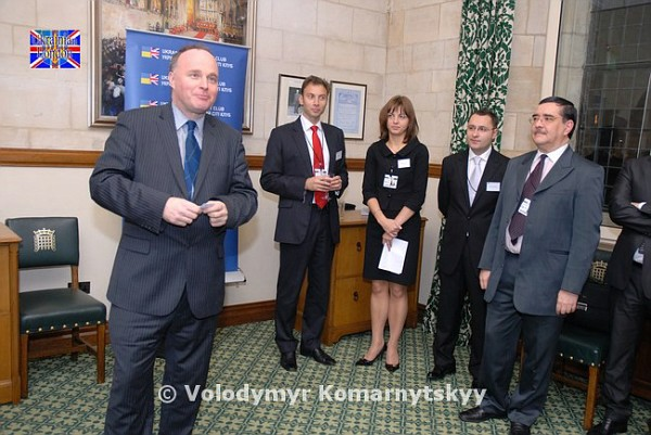 UBCC 4th Anniversary Reception at the Houses of Parliament – 24 November 2009