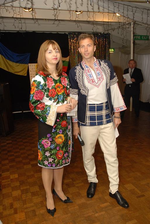 Irina Tymczyszyn (UBCC) and Zarko Iankov (BCC)