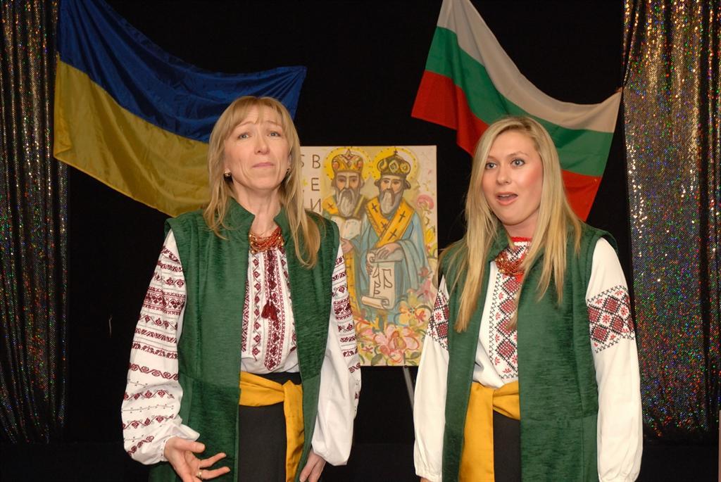 Soloists of Bulava Choir Vera Tymchyshyn and Rozanna Madulys