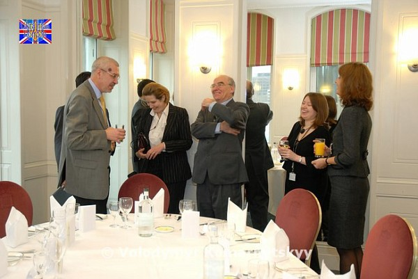 UBCC VIP Lunch at the Houses of Parliament – 3 December 2009