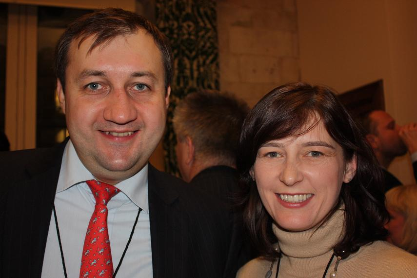 OOleksiy Soroka and Luba Chaban