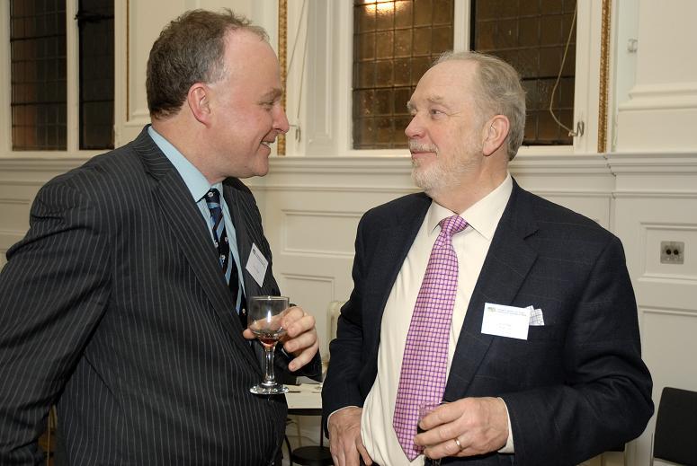 John Grogan (UBCC Advisory Council) and Rod Page (Bryan Cave)