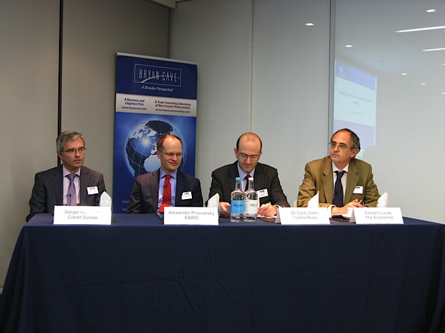 "UBCC 7th Economic Panel Discussion ""Outlook for Ukraine's Economy in 2012"" hosted by Bryan Cave – 21 February 2012"