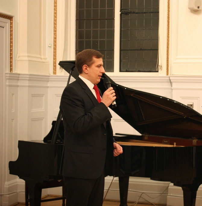 Volodymyr Khomanets (Minister Councillor, Embassy of Ukraine)