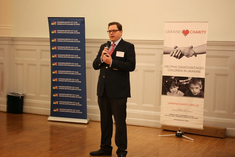 Andy Hunder (Director of the Ukrainian Institute in London)