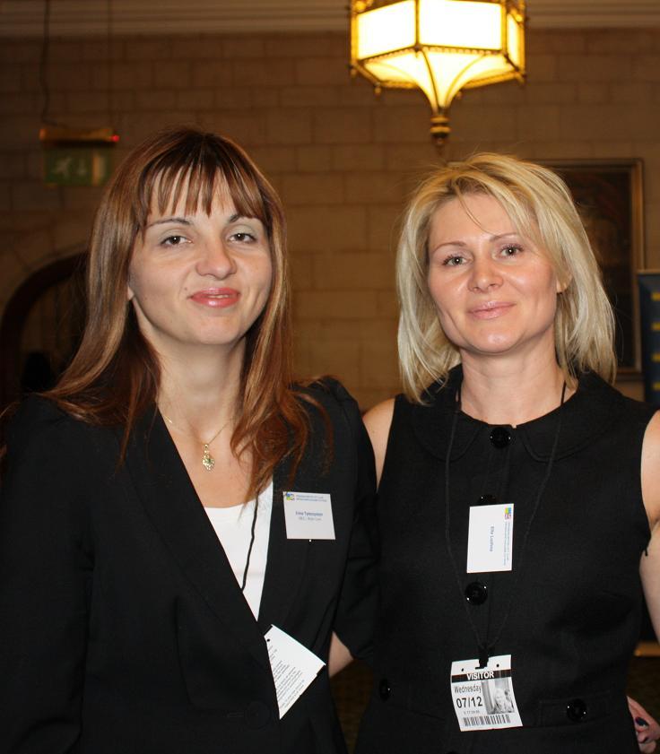 Irina Tymczyszyn and Ella Luzhna