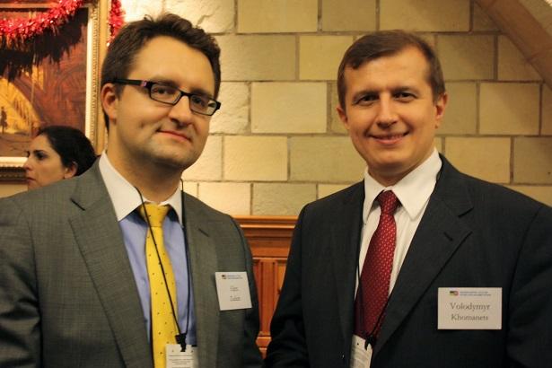 Alex Zaikin and Volodymyr Khomanets