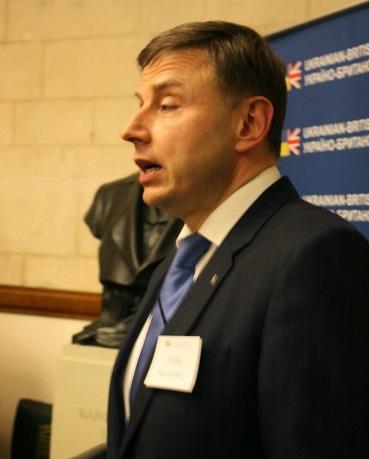 Andriy Kuzmenko (Charge d'Affaires, Embassy of Ukraine)